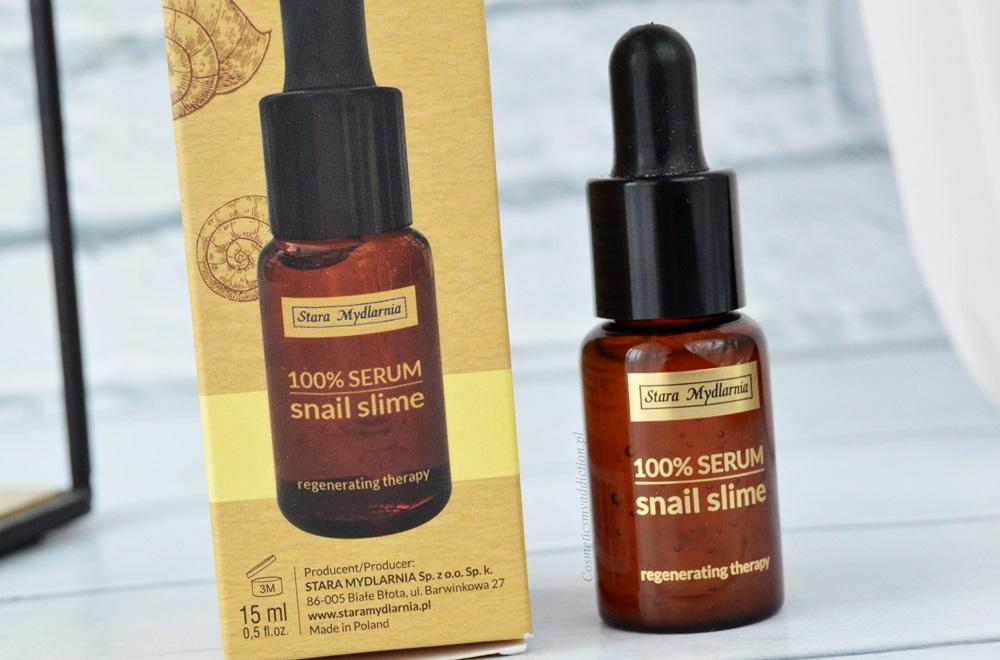 Snail Slime Face Serum, czyli serum do twarzy ze śluzem ślimaka
