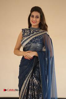 Actress Manjusha Pictures in Saree at Srirastu Subhamastu Song Launch  0023.JPG