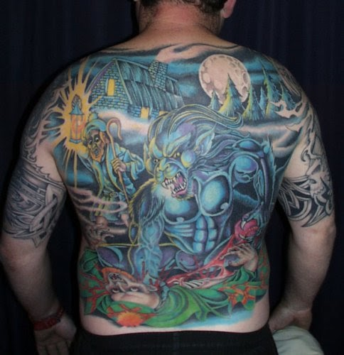 FREE TATTOO PICTURES: Wolf Tattoos - 5 Great Wolf Tattoo ...
