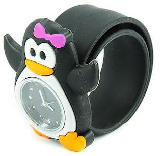 Jam Tangan Anak Karakter Kartun Pinguin