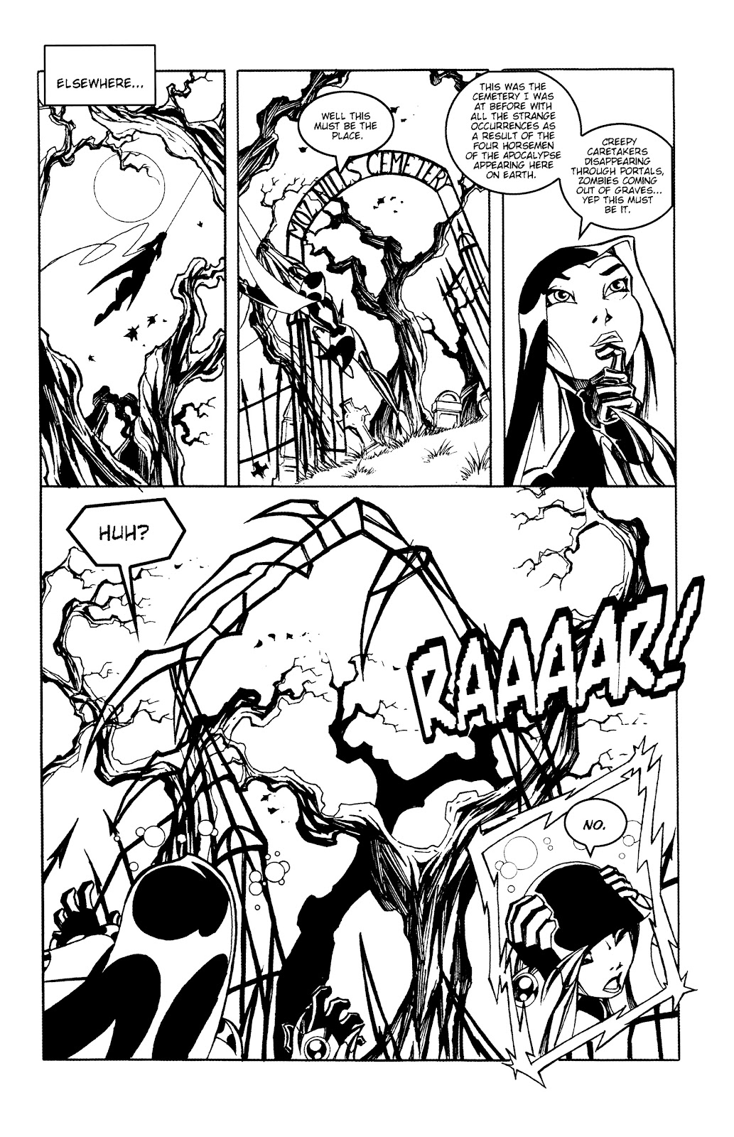 Warrior Nun Areala:  Dangerous Game Issue #2 #2 - English 10