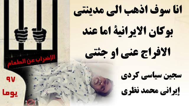 لسجين السياسي محمد نظري