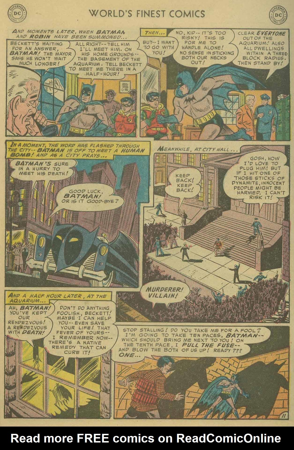 Read online World's Finest Comics comic -  Issue #69 - 64
