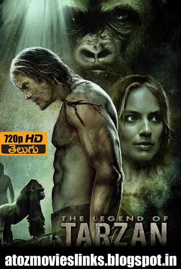 The Legend of Tarzan (English) full movies 720p download