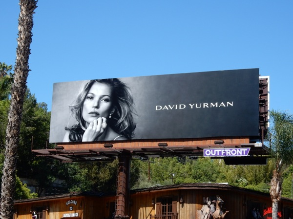 Kate Moss David Yurman jewelry billboard