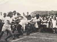 Girls' track meet, Honduras