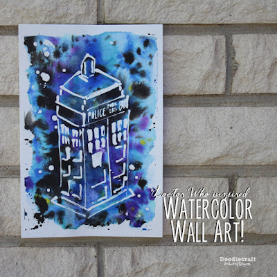 http://www.doodlecraftblog.com/2015/08/doctor-who-week-watercolor-galaxy-art.html