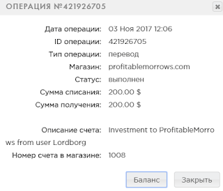 profitablemorrows отзывы