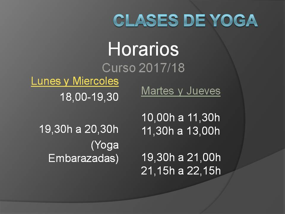 La selva esmeralda clases de yoga curso 2017 18 - Herrero online particulares ...