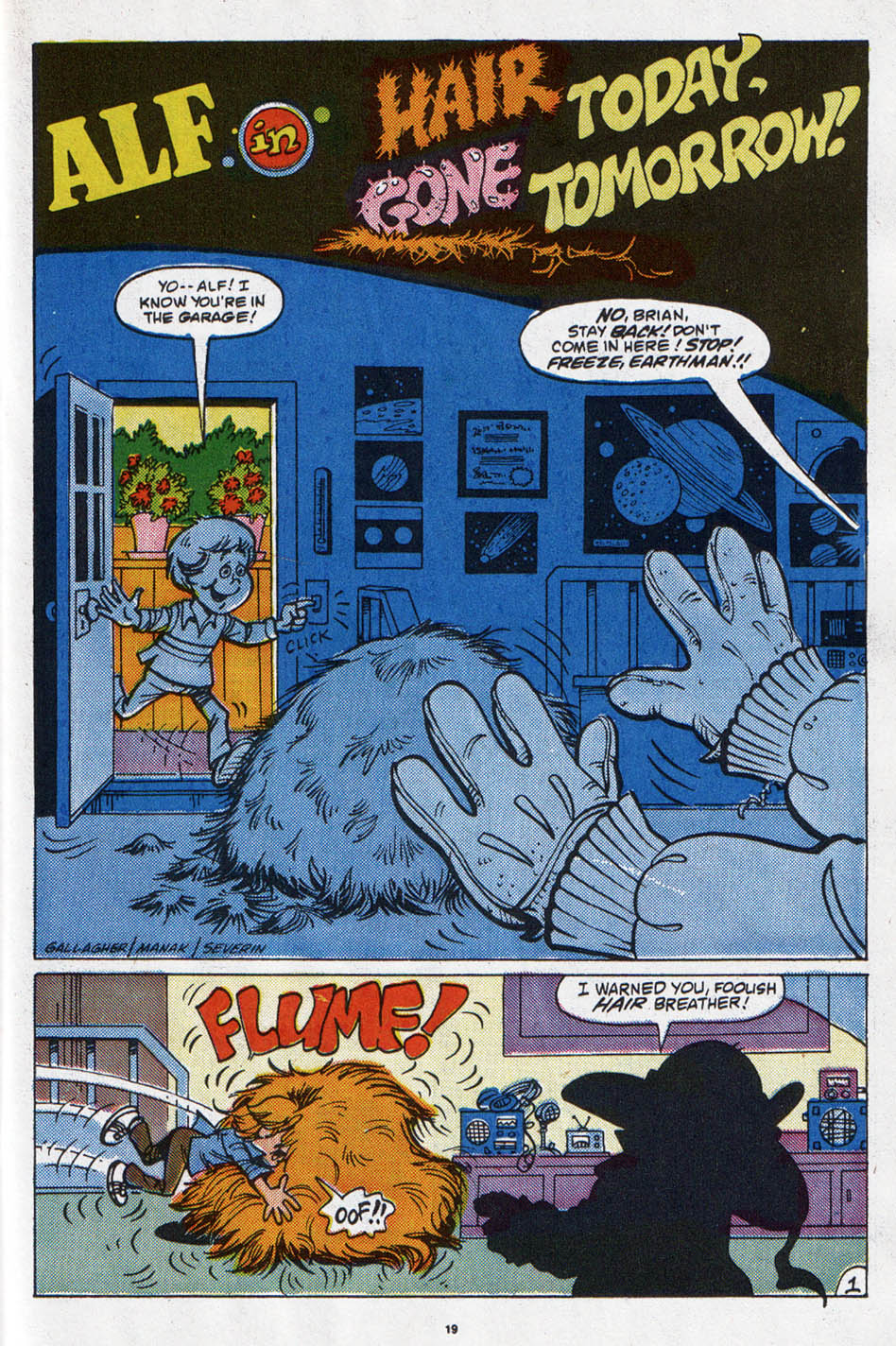 Read online ALF comic -  Issue #6 - 16