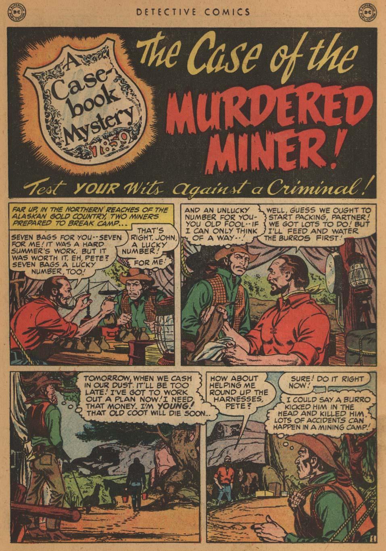 Read online Detective Comics (1937) comic -  Issue #152 - 33