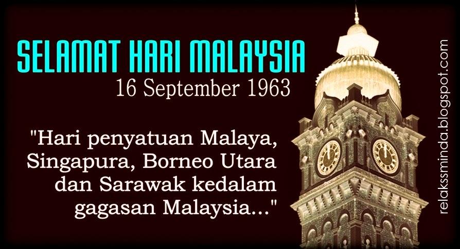 Selamat Menyambut Hari Malaysia ke 53