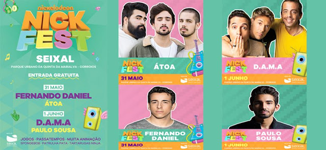Nickelodeon Portugal Announces Nick Fest Seixal 2019