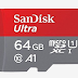 XtechGuru Card offer-Buy SanDisk 64GB Ultra microSHXC UHS-I Card at Rs. 852/- only