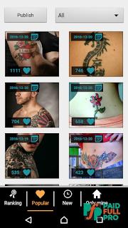 Tattoo my Photo 2.0 Pro APK