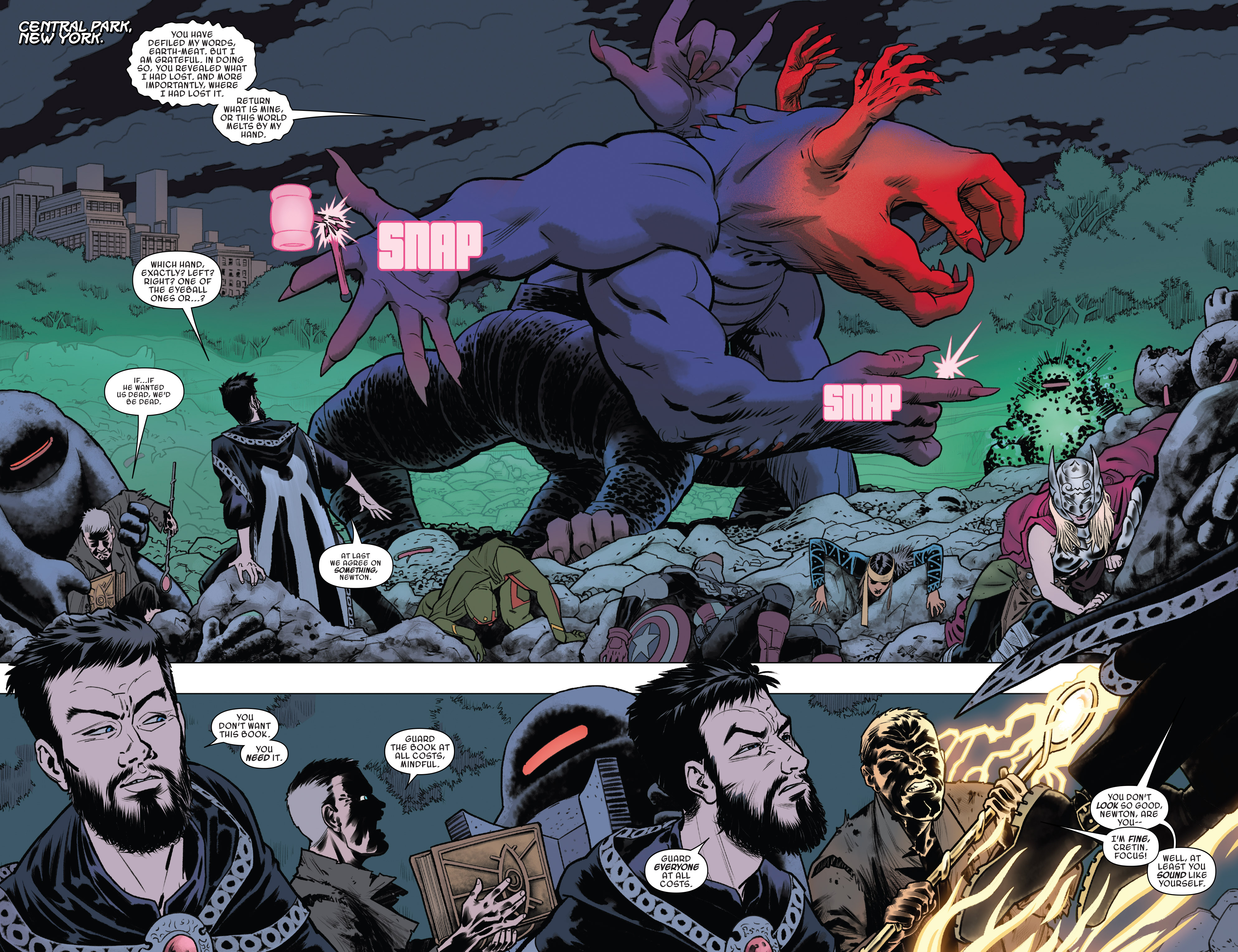 Read online Doctor Strange and the Sorcerers Supreme comic -  Issue #8 - 5