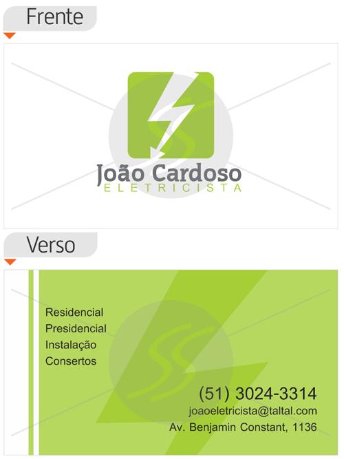 cartoes de visita eletricistas rj - Cartões de Visita para Eletricistas, Criativos e plugados