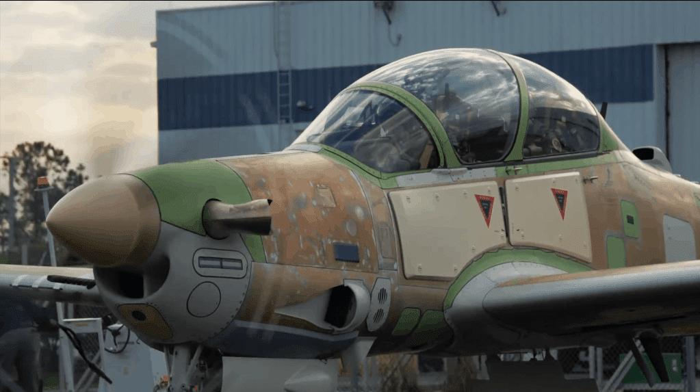 Super Tucano готується до служби у ВПС Нігерії