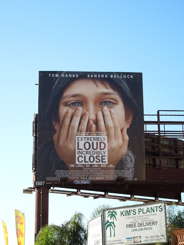 Extremely Loud Incredibly Close film billboard