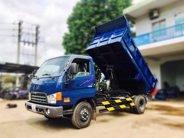 ô tô tải ben HD88