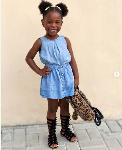 Pretty Photos of Davido's Daughter, Imade Surface