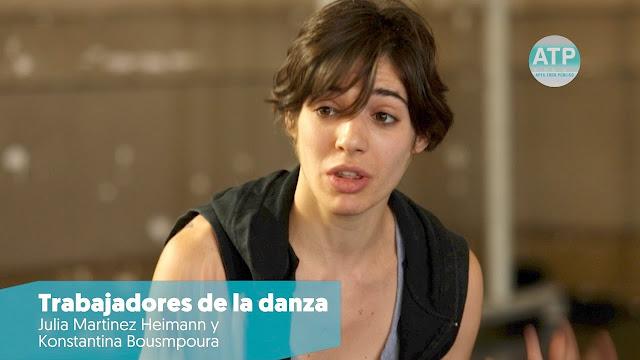Trabajadores de la Danza (Heimann y Bousmpoura) Documental Estreno