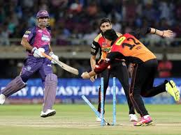 Rising Pune Supergiants lost lost their match against Sunrisers Hyderabad by four runs after skipper Dhoni got run out in the last over, thanks to some athletic fielding by Yuvraj.    Thanks to a superb six-wicket haul by leg-spinner Adam Zampa, Sunrisers Hyderabad could put only 137 on board.