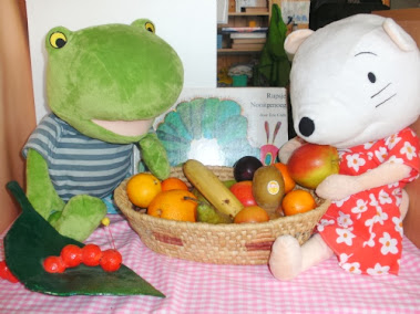 fruit met nellie en cezar