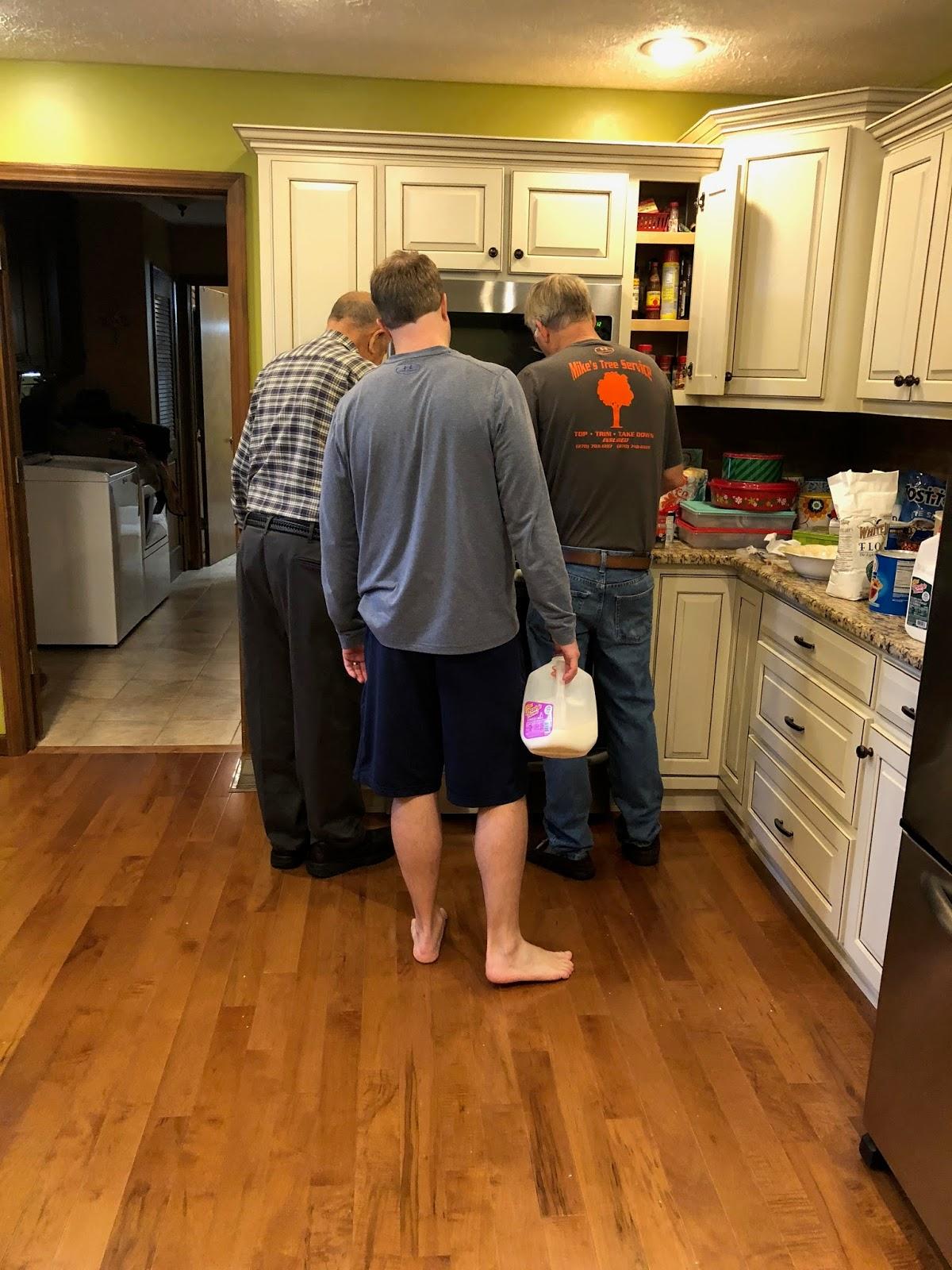 Growing Family Robinson: Christmas Morning in Kentucky