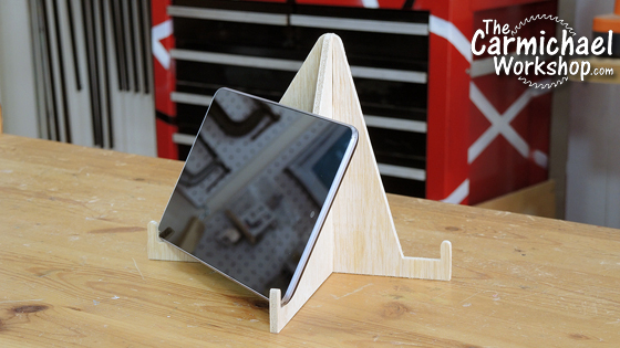 The Carmichael Workshop Tablet Stand