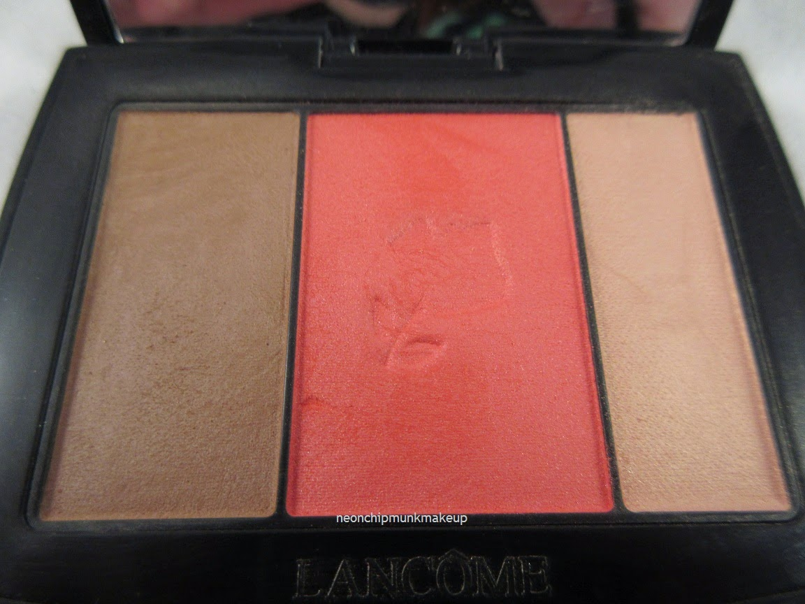 Lancome Peche Savvy Blush Subtil Palette Review Swatches Neon Chipmunk Revlon Touch And Glow Face Powder 43 Gr This Has A Combined Weight Of 45 Grams 158oz Retails For Is Not Cruelty Free Product Was Made In Canada