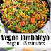 VEGAN JAMBALAYA WITH BEANS