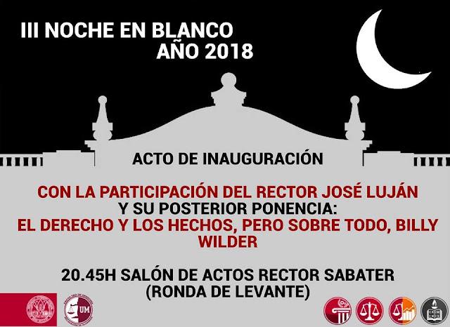 III Noche en Blanco