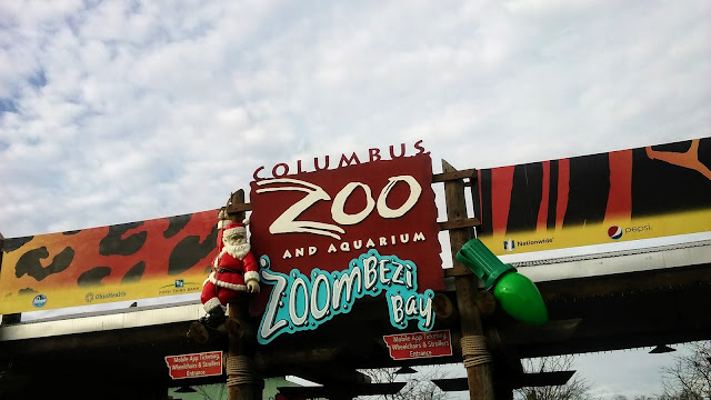 Columbus Zoo in the winter