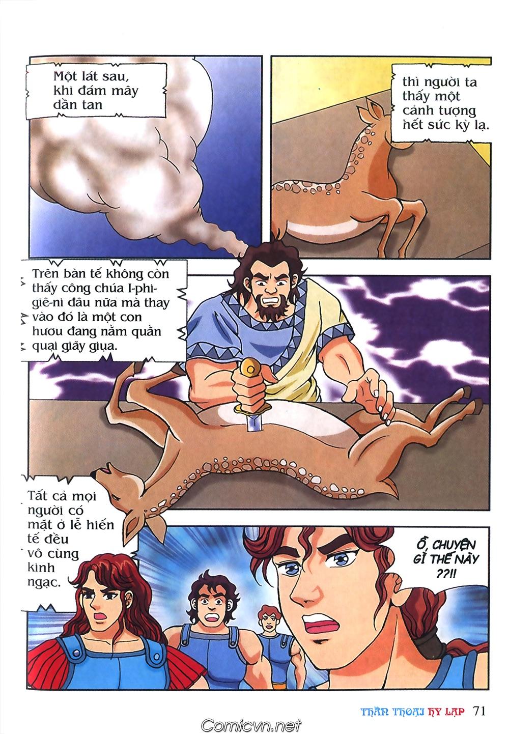 Thần Thoại Hy Lạp Màu - Chapter 53: Trước giờ xung trận - Pic 35
