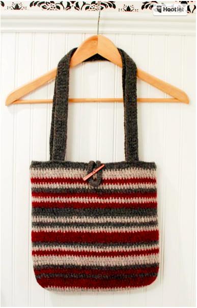 Autumn Crochet Purse