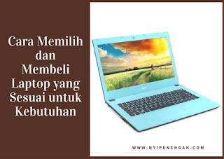 Memilih Laptop