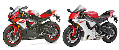 All New 2016 Yamaha YZF-R6 & R1 BIKE