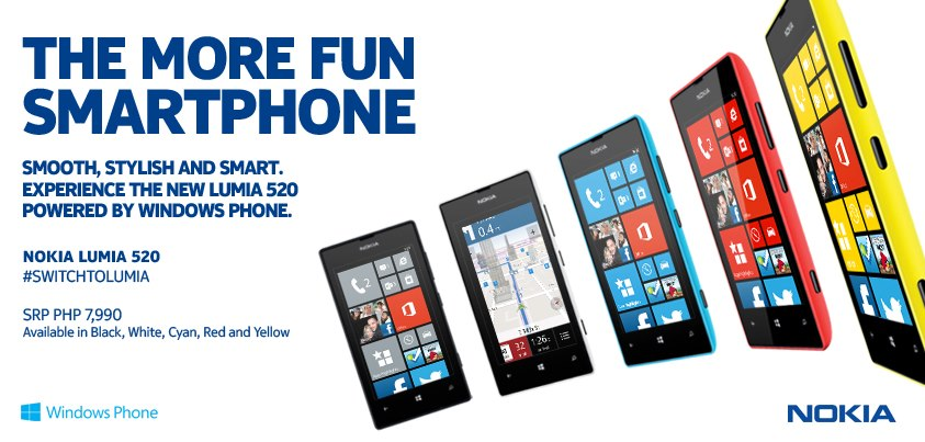 where to buy nokia lumia 520 in the philippines