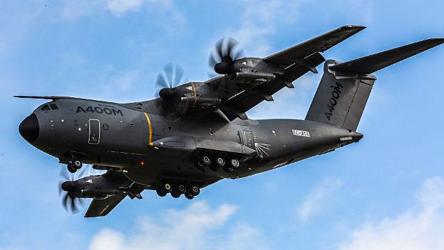 Avion Airbus A400M Atlas - Fond d'écran en Full HD