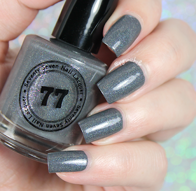 Seventy Seven Nail Lacquer Eye of the Storm | Springtime Small Batches