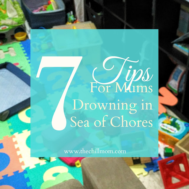 7 Tips for Mothers Drowning in Sea of Chores