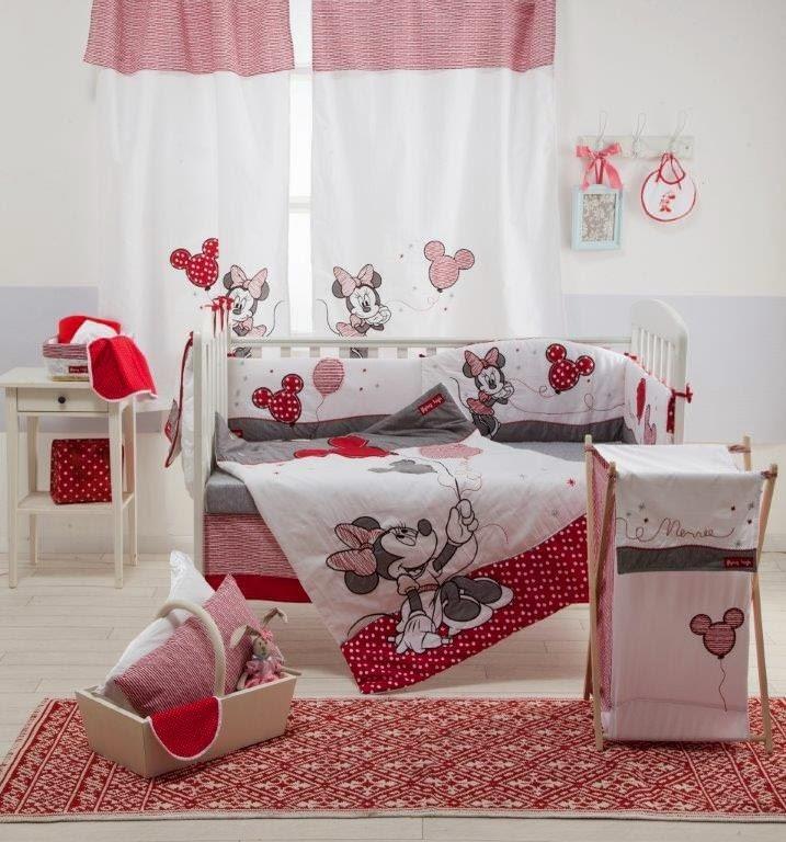 Dormitorios Para Beb 233 S Tema Minnie Ideas Para Decorar