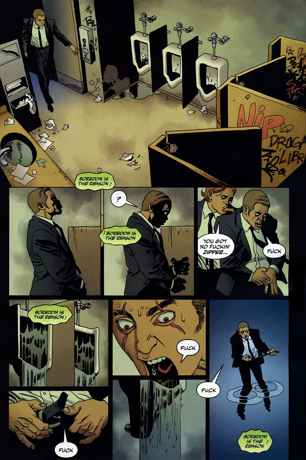 Read online 100 Bullets comic -  Issue #95 - 4