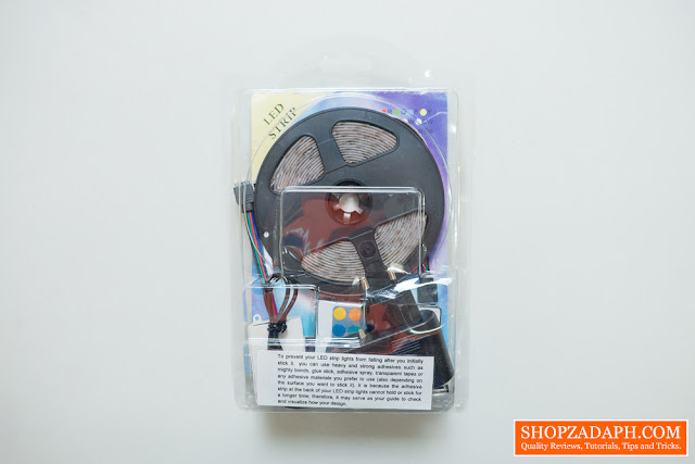 Cheapest RGB LED Strip on LAZADA Unboxing