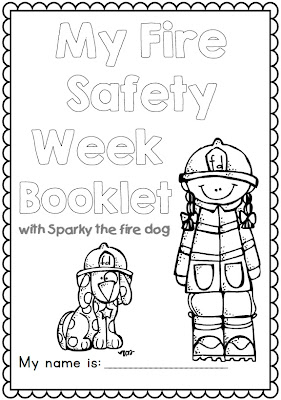 Kindergarten safety worksheets free fire safety for Sparky the fire dog coloring pages