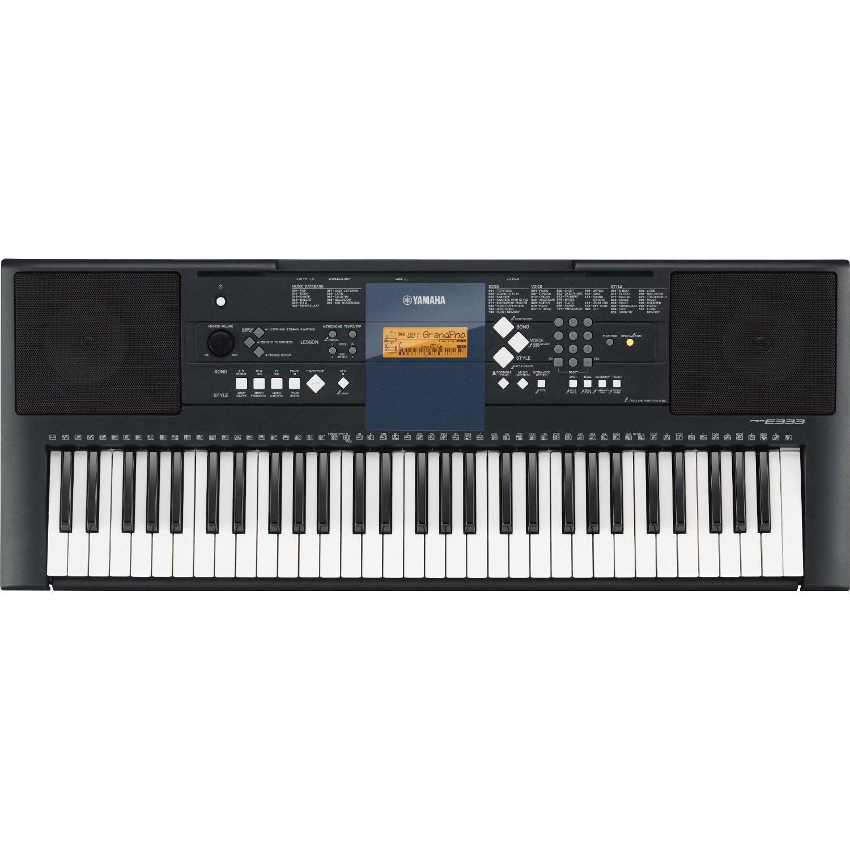 yamaha psr e333 portable keyboard review james musical. Black Bedroom Furniture Sets. Home Design Ideas