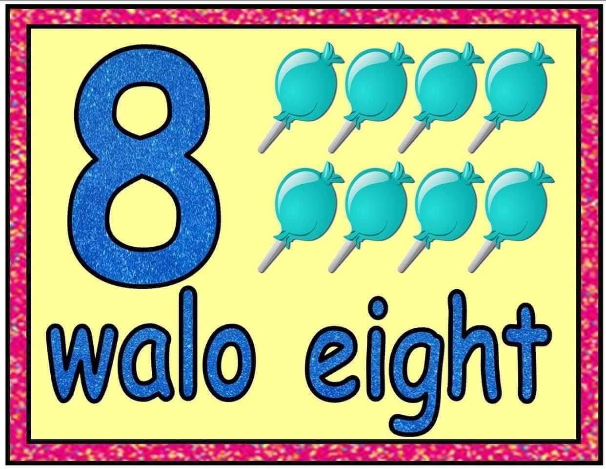 Teacher Fun Files Number Flashcards English Amp Filipino