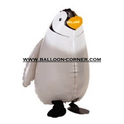 Balon Foil Airwalker Penguin