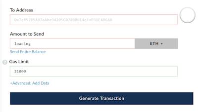Cara Mengirim Token di Myetherwallet ke Exchanger